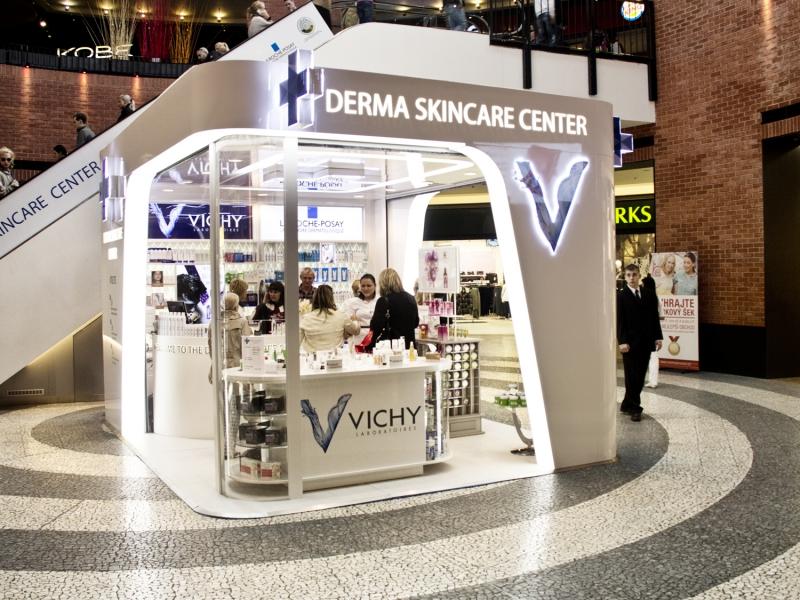 vichy shop in mall